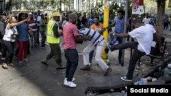 Une vicitme d'actes xénophobes en Afrique du Sud