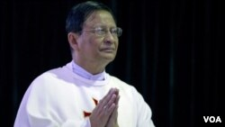 ສັງຄະຣາດ Charles Maung Bo ເປັນນຶ່ງໃນຈຳນວນ 20 ຄົນ ທີ່ໄດ້ຖືກແຕ່ຕັ້ງ ໃຫ້ເປັນກາກດີນານໃໝ່ ໃນມຽນມາ.
