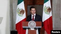 မကၠဆီကိုႏုိင္ငံသမၼတ Enrique Peña Nieto