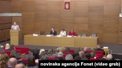 Četvrti okrugli sto u okviru javne rasprave o Nacrtu medijske strategije u Srbiji, Foto: Video grab