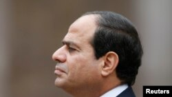 Shugaban kasar masar Abdel Fatah Al sisi, REUTERS/Charles Platiau (FRANCE - Tags: POLITICS HEADSHOT) - RTR4FOAF
