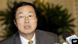 ທ່ານ Zhou Xiaochuan ຜູ້ອໍານວຍການທະນາຄານແຫ່ງຊາດຈີນ, ວັນທີ 3 ສິງຫາ 2011.