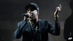 Rappers Jay-Z and Kendrick Lamar dominate nominations for the top prizes on the biggest night in music at the Grammy Awards on Jan. 28, 2018.