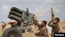 伊拉克士兵在薩拉丁省作戰