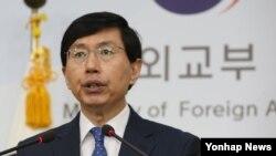 한국 외교부 조준혁 대변인 (자료사진)