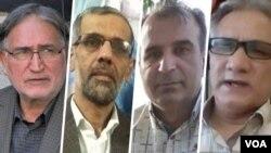 فعالان مدنی و سیاسی، جواد لعل محمدی، حسین مهرگان، مهدوی فرد و محمد نوریزاد، از امضا کنندگان بیانیه استعفای خامنه ای
