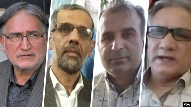 جواد لعل محمدی، حسین مهرگان، محمد مهدوی فرد و محمد نوریزاد