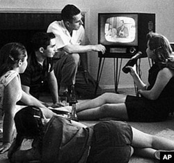Television producers in the 1950s used laugh tracks to signal to audiences when something was funny