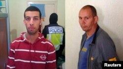 Nou Mediouni, izquierda y Hassan El Jaaouani, derecha.