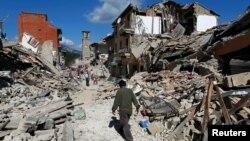 意大利中部发生地震,至少73人丧生