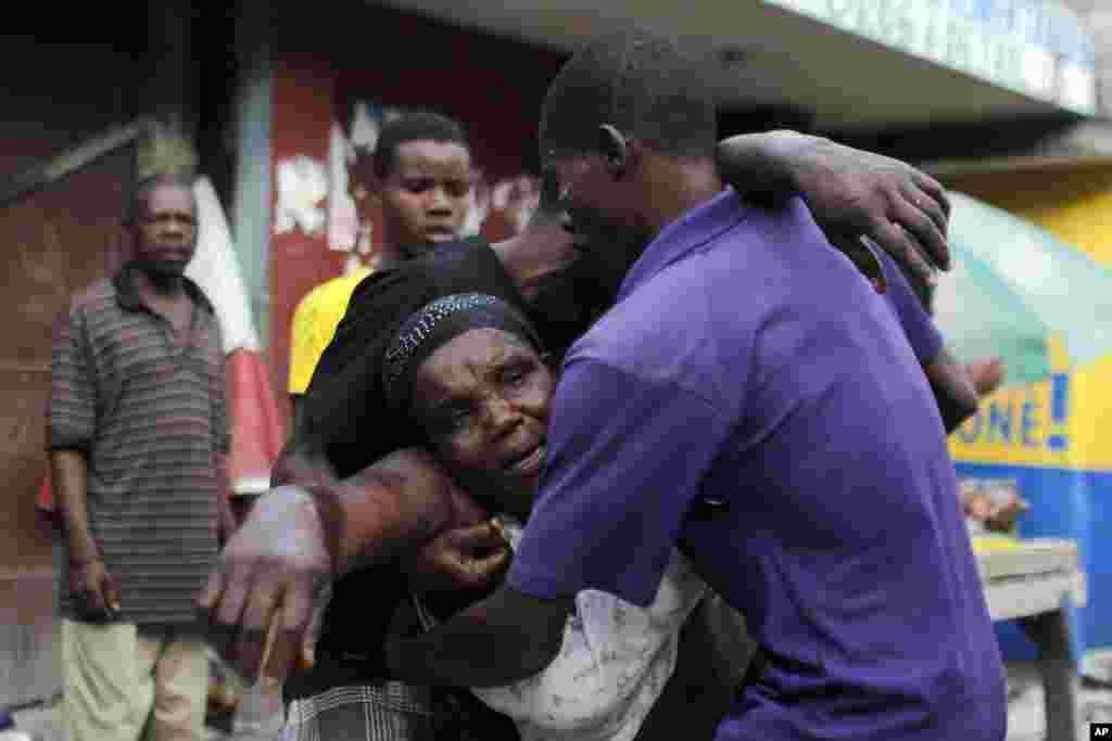 Haiti'de başkanlık seçimleri sonrası gösteriler