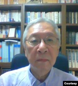 中日近代史专家,静冈県立大学国际关系学部荣誉教授嵯峨隆。(照片提供: 嵯峨隆 )