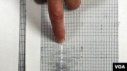 El Servicio Geológico de Estados Unidos, informó que las réplicas se produjeron en las cercanías del epicentro el terremoto.