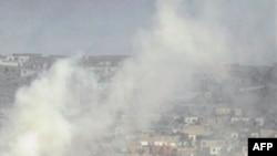 Các phần tử chủ chiến tấn công khu vực có Ðại sứ quán Mỹ tại thủ đô Kabul, Afghanistan ngày 13 tháng 9, 2011