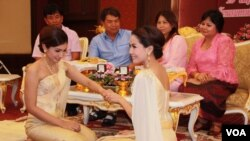 Same-sex wedding ceremony in Bangkok, Thailand