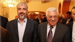 دیدار محمود عباس و خالد مشعل در قاهره. ۲۴ نوامبر ۲۰۱۱