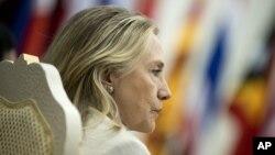 Cambodia US Clinton