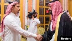 Prensê Saudî sersaxîyê ji kurê Xaşiqcî re dixwaze