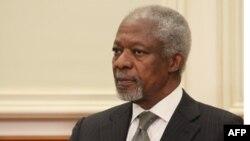 Спецпосланник ООН Кофи Аннан