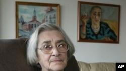 前苏联人权活动人士叶连娜.邦纳(资料照片)