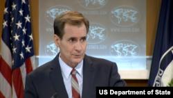 美國國務院發言人柯比(圖片來源:美國國務院)