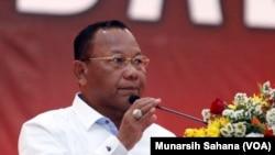 Kepala BNPT Mayjen Polisi Saud Usman Nasution. (VOA/Munarsih Sahana)