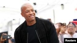 Le rappeur et producteur Dr Dre à Los Angeles en Californie le 12 juin 2017.