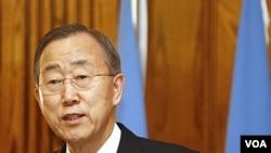 Sekjen PBB Ban Ki Moon (Foto: dok).