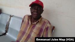 Albert Atangana Fouda, Chef de quartier lieu dit Nsimeyong à Yaoundé, au Cameroun, le 28 janvier 2017. (VOA/Emmanuel Jules Ntap)