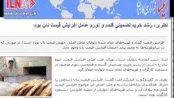 گرانی نان صدای مجلس شورای اسلامی را در آورد