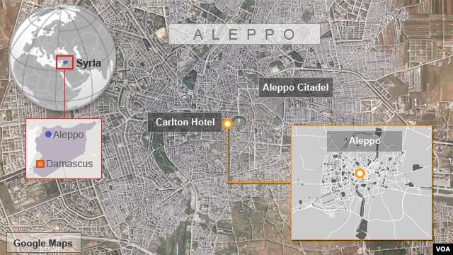 Carlton Hotel, Aleppo, Syria