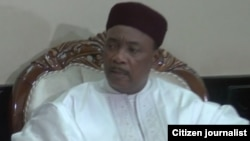 Shugaban Nijar Muhammadou Issoufou