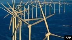 Ветряная ферма у побережья Нью-Джерси