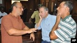 Hukumomin tsaron Najeriya sun damke Talal Roda da Abdallah Thahini da kuma Mustapha Fawaz.