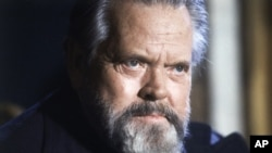 FILE - Actor and film director Orson Welles.