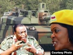UNkosikazi Grace Mugabe loRetired General Constantino Chiwenga.