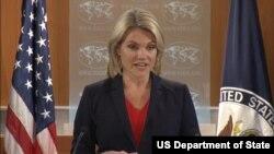 «هثر نوئرت» سخنگوی وزارت خارجه آمریکا