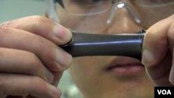 a film of graphene.