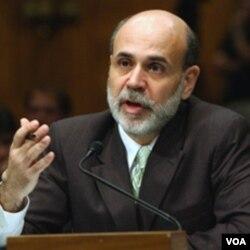 Gubernur Bank Sentral AS, Ben Bernanke: ekonomi AS masih perlu stimulus