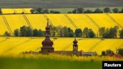 Gereja di Strupcice, dekat kota Most, Republik Ceko. (Foto: Dok)