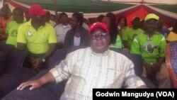 UMnu Elias Mudzuri ngomunye wabasekeli bakaMnu M.rgan Tsvangirai.