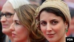 لیلا حاتمی بازیگر و هنرمند ایرانی در جشنواره فیلم کن