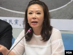 台灣在野黨國民黨立委李彥秀(美國之音張永泰拍攝)