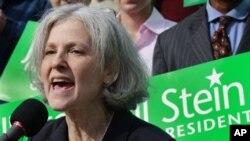Jill Stayn Yashillar partiyasidan 2012-yilgi prezident saylovlarida nomzod
