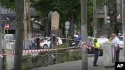 阿姆斯特丹火車站發生持刀傷人事件。
