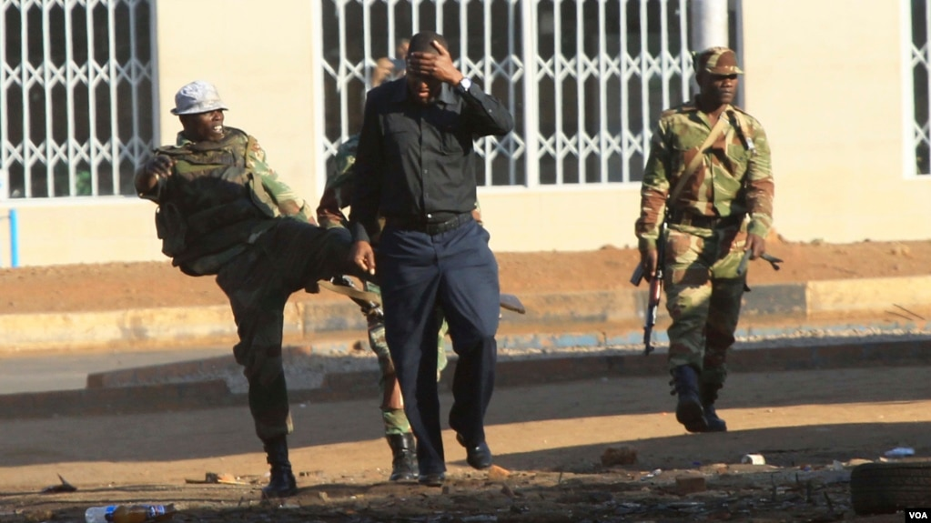 zimbabwe opposition demands release of election results as mnangwaga