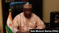 Illiassou Idi Mainassara, ministre nigérien de la santé.
