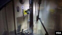 TEPCO sempat memasukkan robot ke dalam gedung reaktor Nomor Satu untuk mengukur tingkat radiasi (18/4).