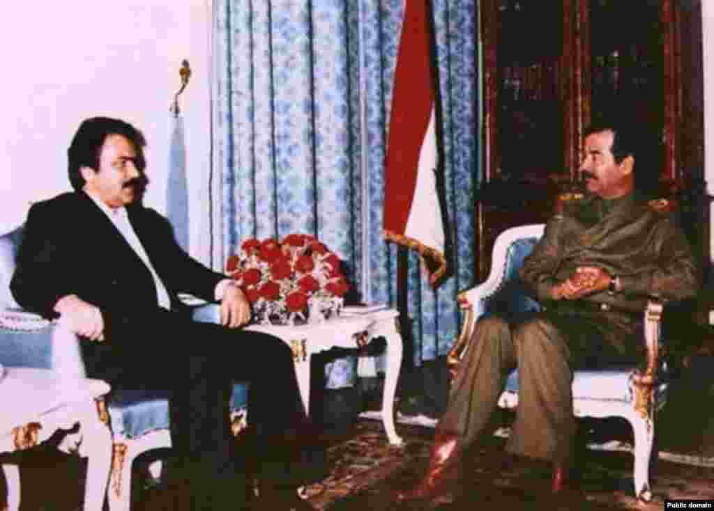 صدام که در جنگ با ایران بود، محلی را به مجاهدین داد که کمپ اشرف نامیده شد و این سازمان در آنجا مستقر شد.