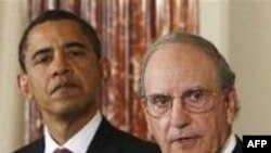 جرج ميچل: ایالات متحده به کار در جهت برقراری صلحی فراگیر و بادوام در خاورمیانه کاملا پایبند است